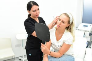 Naomi Isted gets LFW ready with Dr Shirin