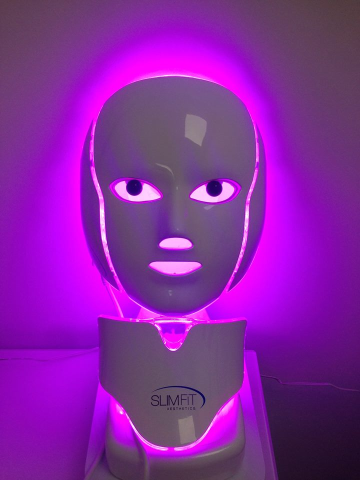 Purple LED light • Reduces swelling • Speeds up recovery after anti-wrinkle injections and fillers • Stimulates mitochondrial and ATP within the skin cells, which creates and extends the life of the anti-ageing enzymes