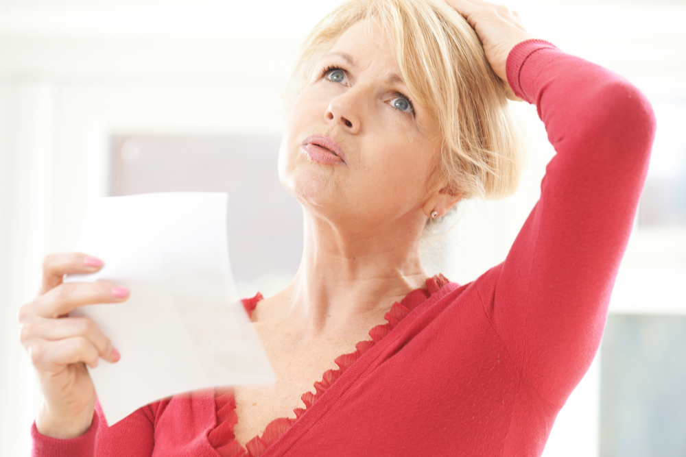 Let's Talk About...Menopause hot flush
