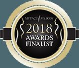 My Face My Body 2018 Award Logo